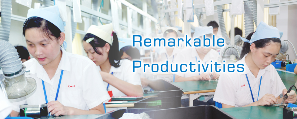 remarkable productivities